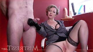 Domina T - fuck-fest slave To Serve Male
