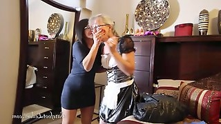 Maid Caught Stealing - Bondage Scene