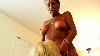Older ladies threesome