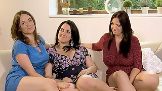Three Bosom Buddies - Amorina, Joana Bliss, and Roxanne Diamond - Scoreland