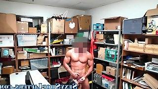 Teen slut sucks cops dick