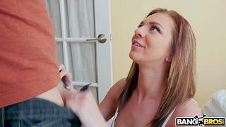 Nice lovemaking regarding the morning hither natural boobs Tiffany Watson
