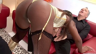 Amazing hardcore group action with Jasmine Webb and Lucie Love
