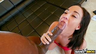 Asian handles renowned dark-skinned dick in marvelous XXX