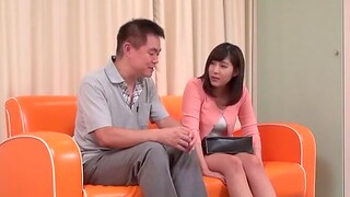 Pretty Asian amateur gets fingered and gives a nice blowjob