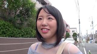 Small breast Asian neighbor gets pleasured far a vibrator