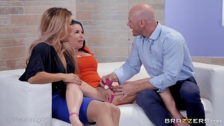 Rank Indulgence in all directions Mercedes Carrera or hot threesome sex in all directions married clip