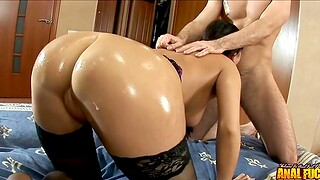 Stout cock makes thick woman lose her mind
