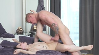 Ravishing Russian chick with nice confidential being fucked - Sara Rich