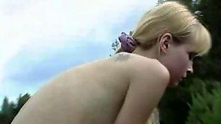 Juvenile Russian prostitute