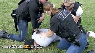 White female police fucked doggystyle
